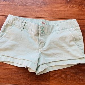 Mossimo light teal shorts (size 9) 🌺🌴